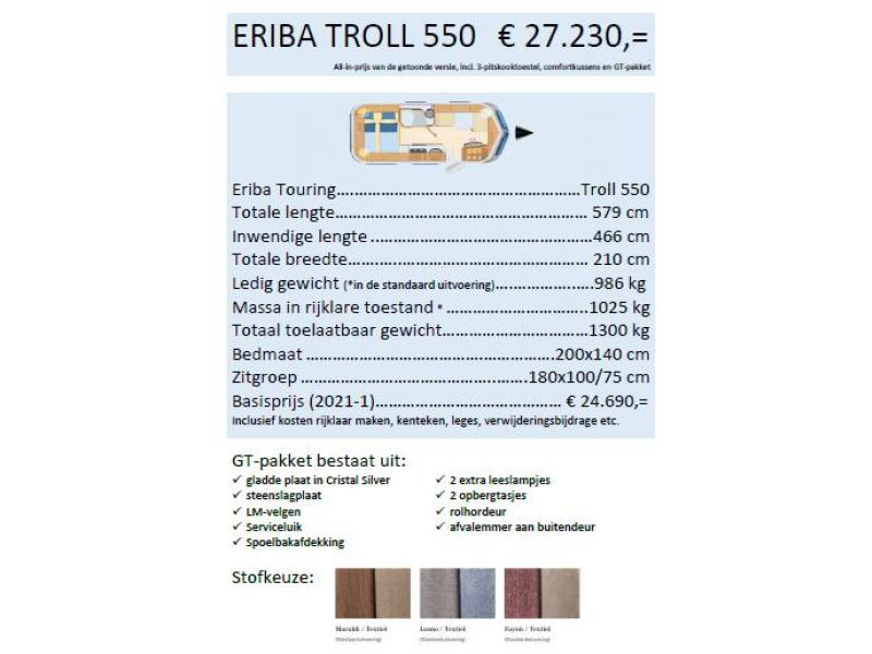 Eriba Touring troll