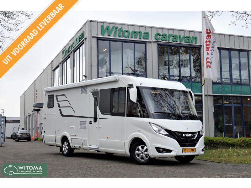 Hymer BML I 780 EP levelsysteem Automaat
