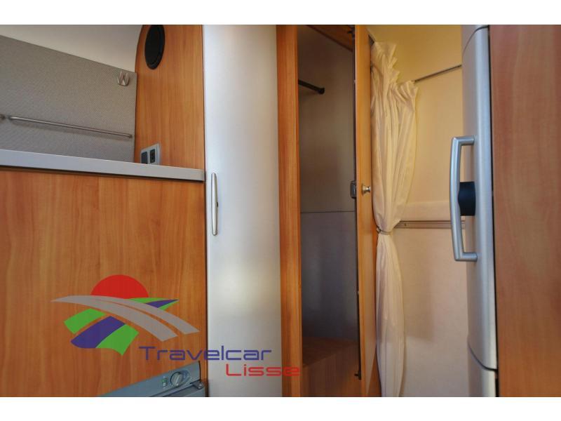 Hymer Exsis SK AIRCO/CRUISE/TREKHAAK bij Travelcar te Lisse op