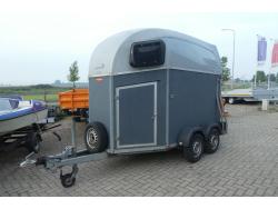 Bockmann 2 paards trailer