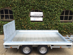 Hulco Terrax-2 3 ton Tandemas Alu laadvloer