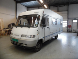Hymer Hymermobil 644 6 pers integraal