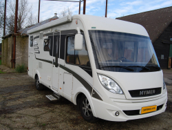 Hymer B578  Automaat Full options
