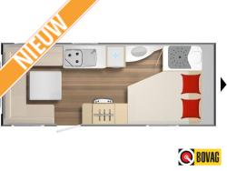 Burstner Premio 460 TS  Ruime caravan met grote zitgroep en