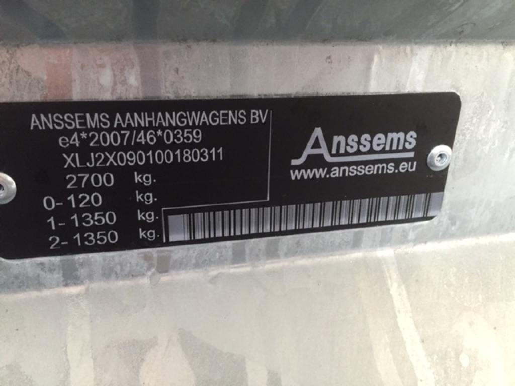 Anssems MSX 3000 Autotransporter Autoambulance