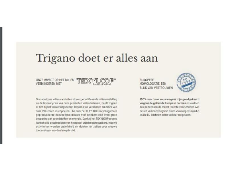Trigano Galleon GL  / met boogvoortent