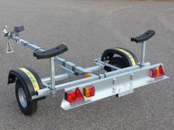 Sterk Basic 350-35 Rubberboottrailer