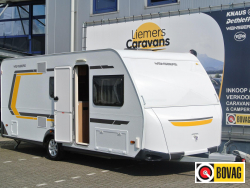Weinsberg CaraTwo 500 QDK STAPELBED - VOORTENT