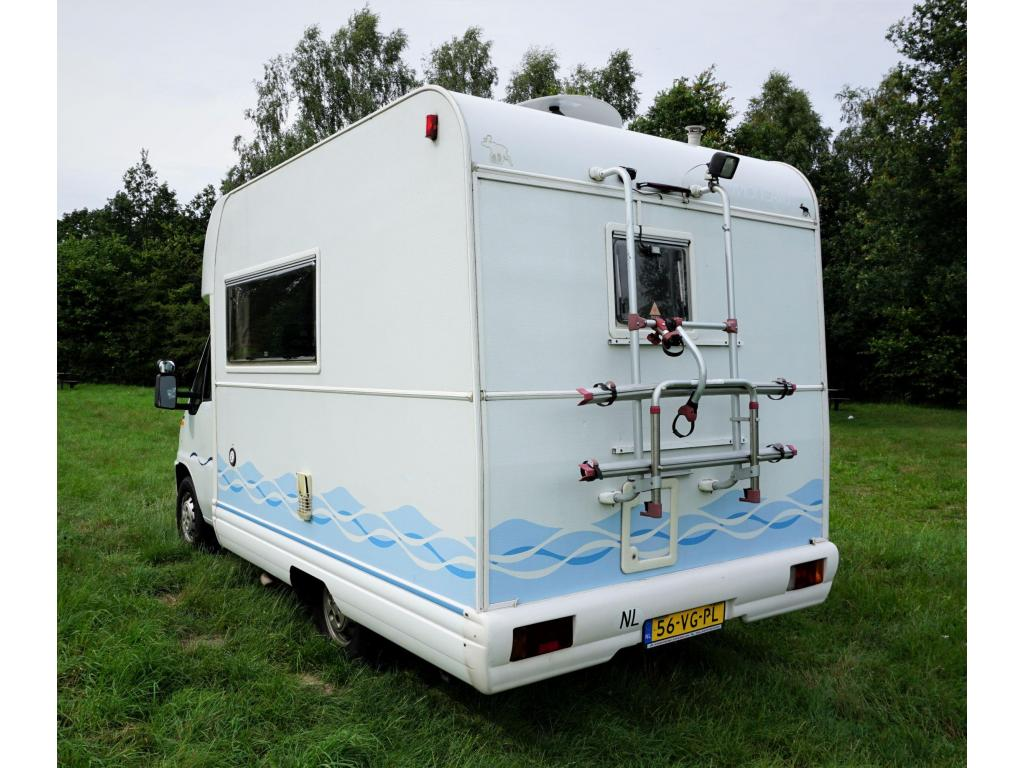 Fiat Moncayo  Compacte uitv. NL camper