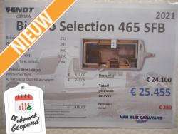 Fendt Bianco Selection 465 SFB NIEUW MODEL 2021