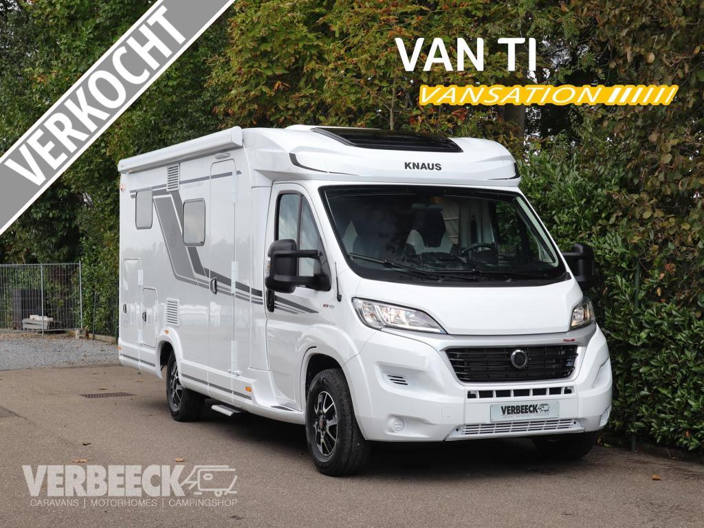 Knaus Van TI 650 MEG | in toonzaal tot E juni
