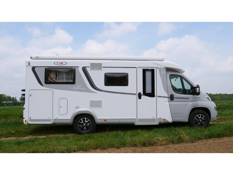LMC Grey Selection 663 G (54) Luxe 3 pers. camper