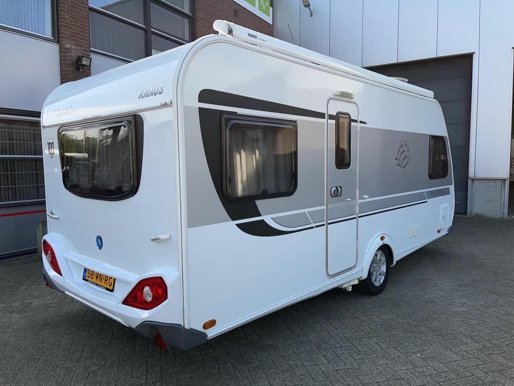 Knaus Sudwind Silver Selection 500 FU Luifel Mover Airco HD-sat