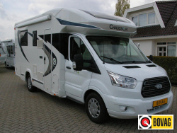 Chausson Flash 628 EB Queensbed,Hefbed,