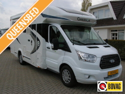 Chausson Flash 628 EB Queensbed, hefbed.