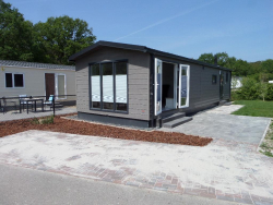 Chalet 6 pers. Stapelbed Airco