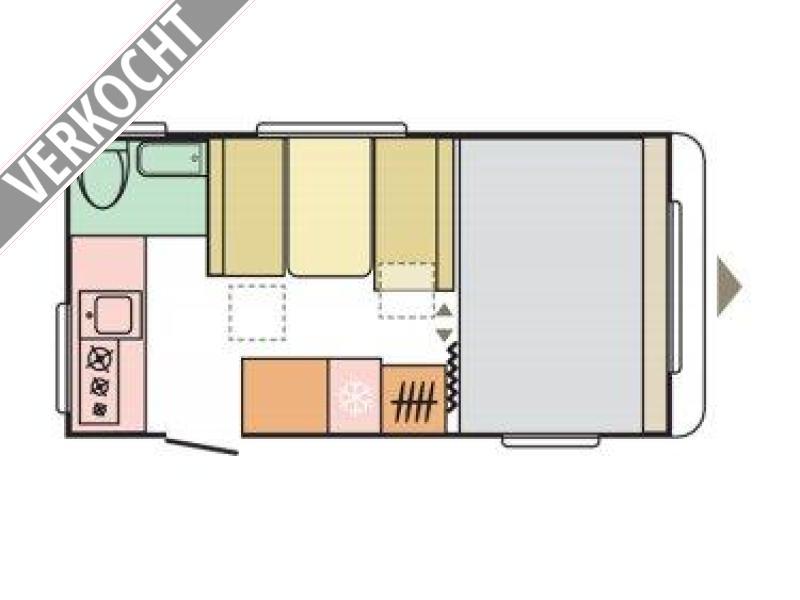 Adria Aviva 442 PH 2021  MODEL, RIJKLAAR