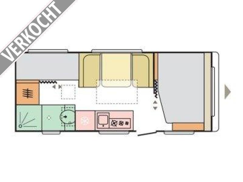 Adria Altea 552 PK 2021 MODEL, RIJKLAAR