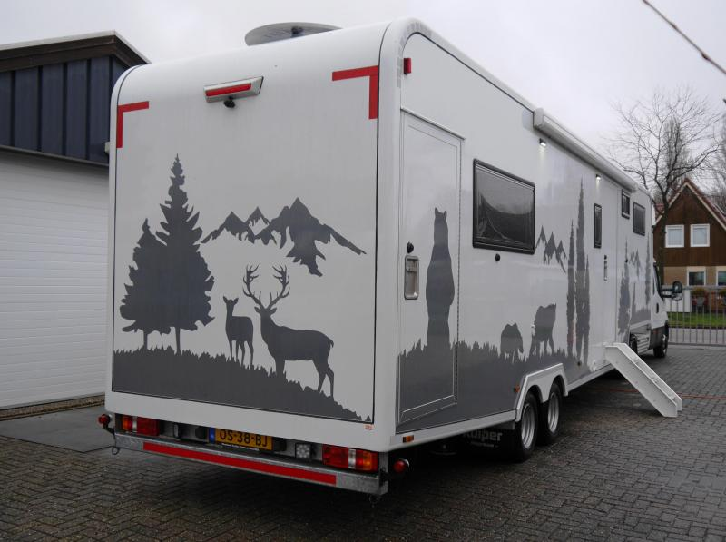 Fifth Wheeler Iveco - Kuipers