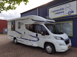 Chausson Flash 628 EB Queensbed Hefbed Solar