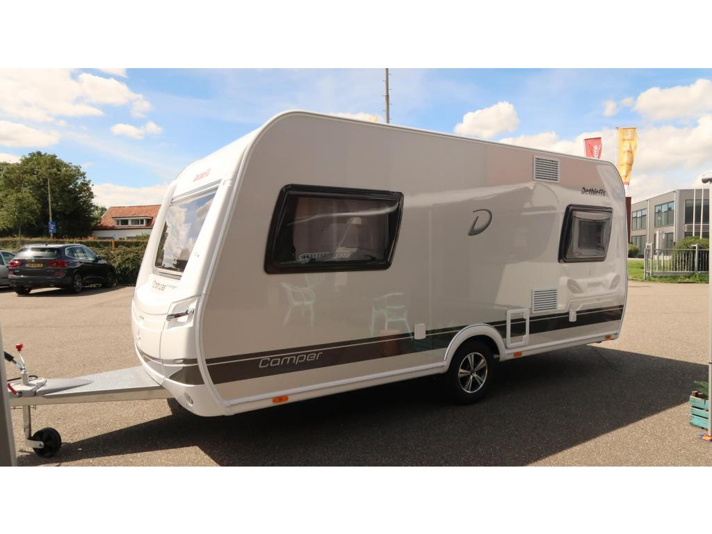 Dethleffs Camper Avantgarde 460 EL 2 X BED EN HOGE KOELKAST