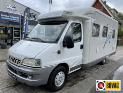 Hymer Tramp 655 GT Top-Indeling Airco 2005