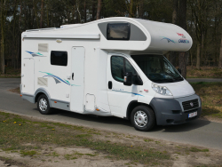 Chausson Flash 01 Stapelbed Airco trekhaak