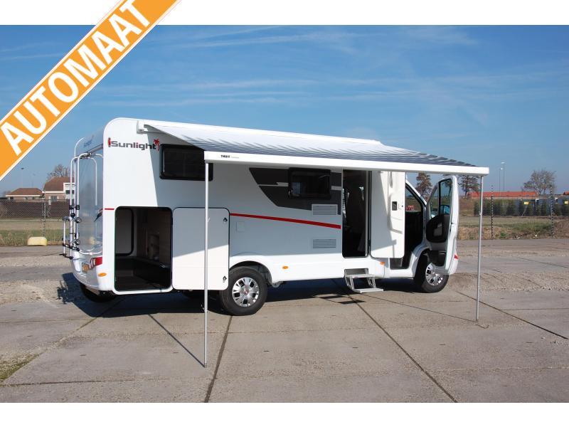 Sunlight T67S 2021 (89) ruime 2 pers camper