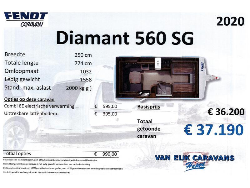 Fendt Diamant 560 SG NIEUW , COMBI 6E