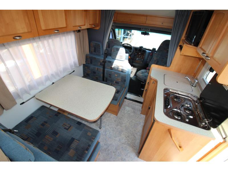 Bürstner T627  Motor & Dak airco, Cruise