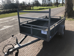 Power Trailer ongeremde enkelasser