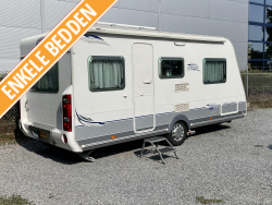 Caravelair Ambiance Style 540 enkele bedden mover