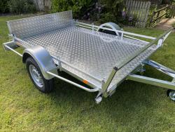 VL aanhangwagen Quad-Motor-Trailer