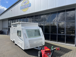 Trigano Silver 420 CP Vast Bed zitje WC BJ 2012