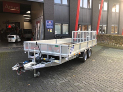 IFOR Williams Trailer CT 166G Kantelbare plateauwagen/klep
