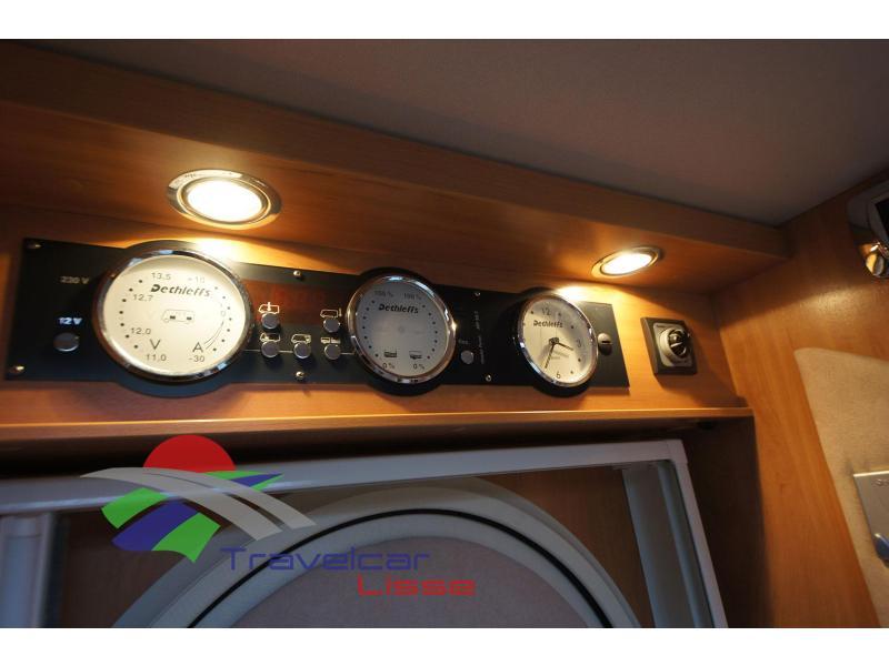 Dethleffs Eighty T  Grote rondzit/Sat/Camera