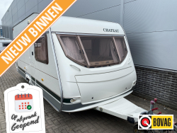 Chateau Calista CT 490 FHU mover, voortent