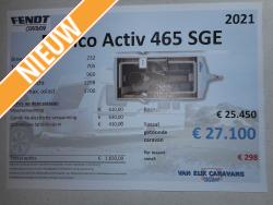 Fendt Bianco Activ 465 SGE NIEUWMODEL 2021