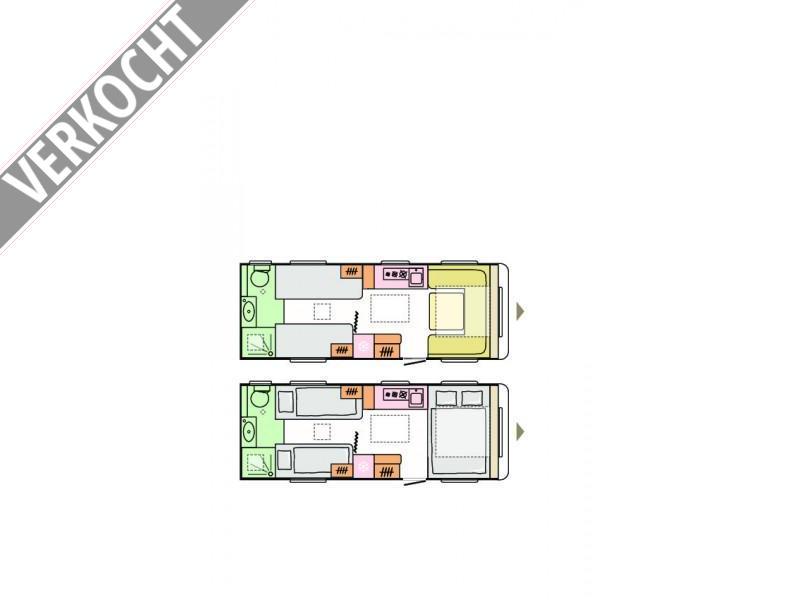 Adria Adora 613 UT 2021 MODEL, RIJKLAAR