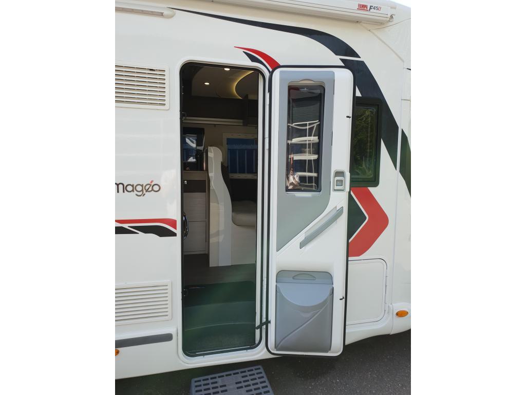 Challenger Mageo 398 XLB fiat automaat trekhaak