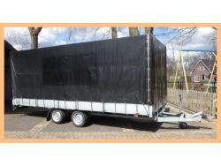 Atec Plateauwagen + huif500x220x180