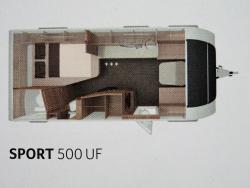 Knaus Sport Silver Selection 500 UF 2de KERSTDAG OPEN
