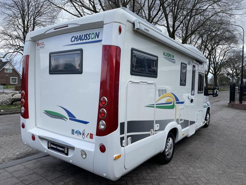 Chausson Allegro 94 Top-Indeling Garage 2008