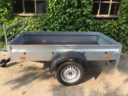 Humbaur Opvouwbare-aanhangwagen