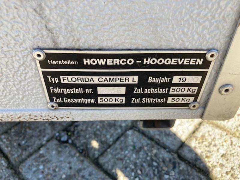 Holtkamper 250 vouwwagen netjes compleet