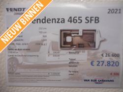 Fendt Tendenza 465 SFB NIEUW MODEL 2021