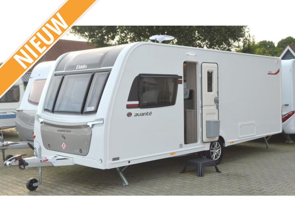 Elddis Avante 554 Nieuw !!  model 2021 !