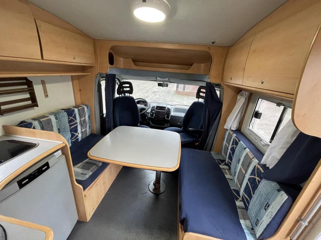 Mobilvetta Miller 590 T Compact 81000 km Airco