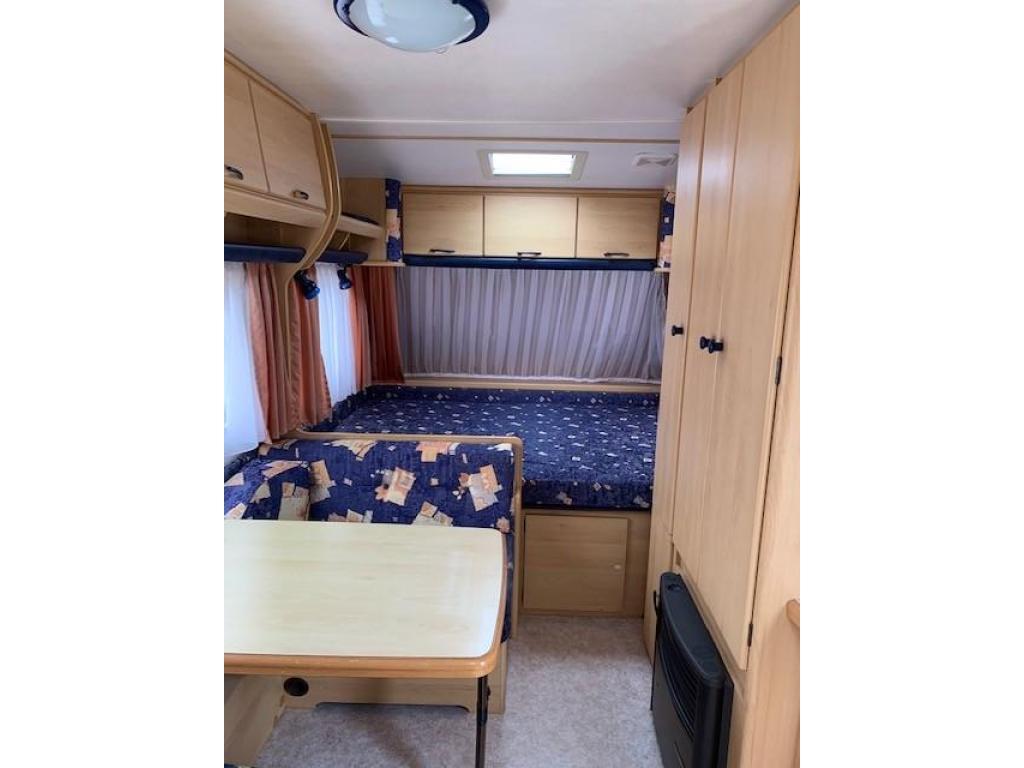 TEC Tour 450 met vast bed en voortent