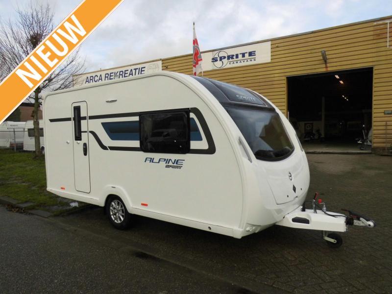 Sprite Alpine Sport 420 CT Nieuw! Model 2020